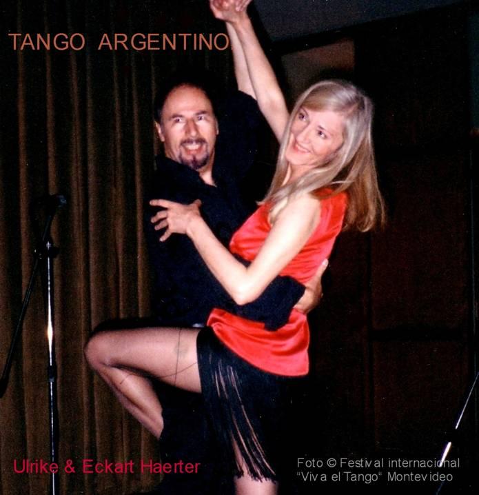 Ulrike & Eckart- Foto © Festival intern.  VIVA el TANGO, Montevideo